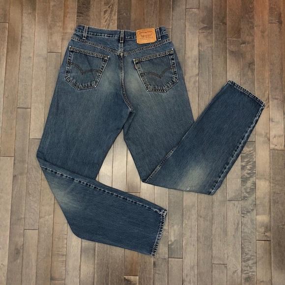 Levi's Denim - Vintage Levi's 550 relaxed fit boyfriend jeans!